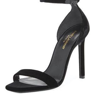 Yves Saint Laurent Shoes - SAINT LAURENT Amber Ankle Strap Sandal